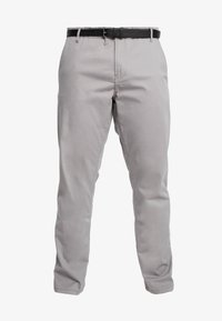 Jack´s Sportswear - STRETCH WITH BELT - Chinos - grey