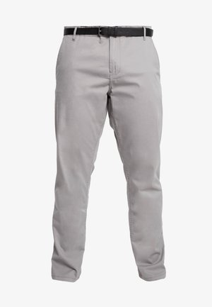 STRETCH WITH BELT - Chinot - grey