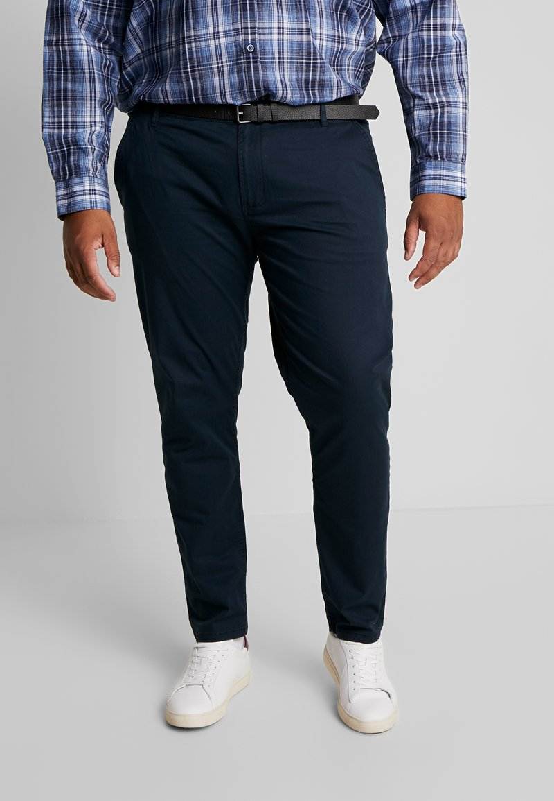 Jack´s Sportswear - STRETCH WITH BELT - Chinot - navy
