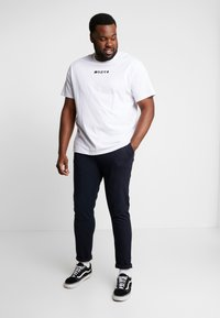Jack´s Sportswear - PANTS ELASTIC WAIST - Chinos - navy mix - 1