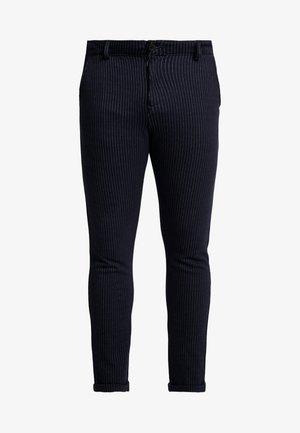PANTS ELASTIC WAIST - Chino kalhoty - navy mix