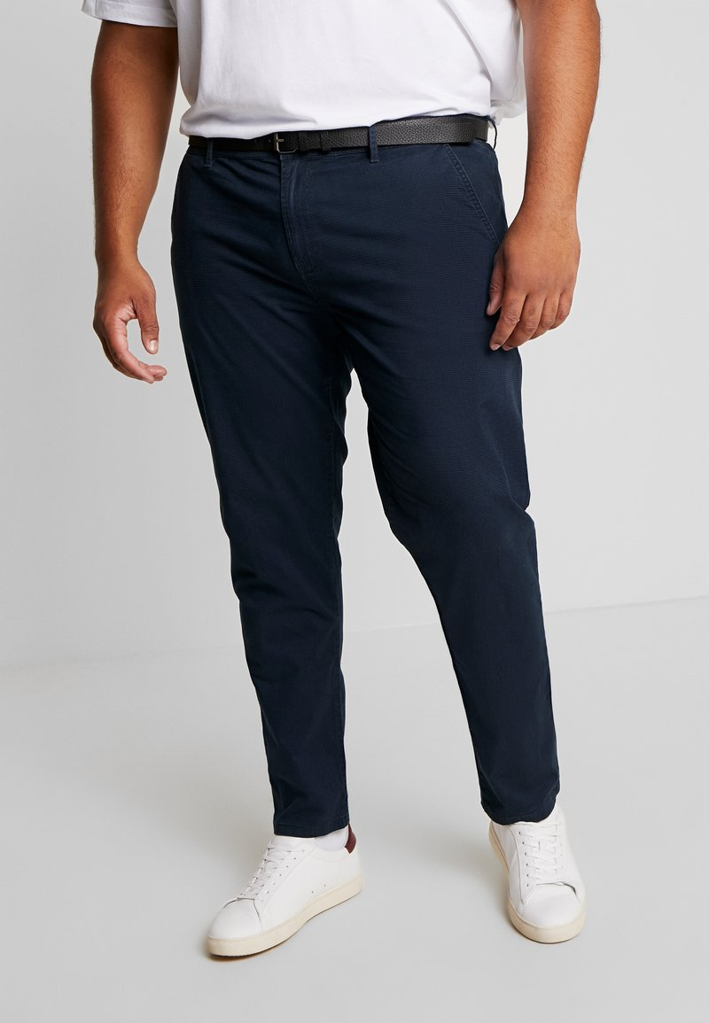 Jack´s Sportswear - STRETCH BELT - Chinos - navy