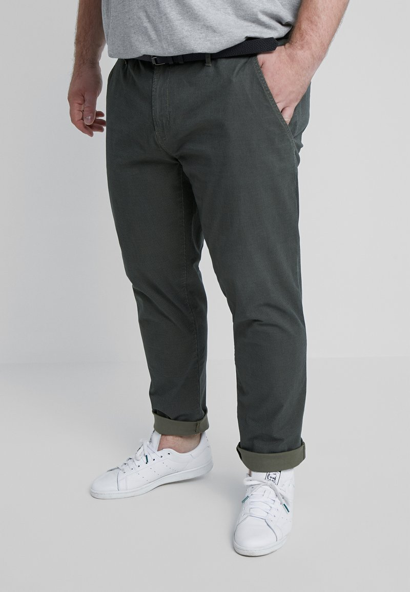 Jack´s Sportswear - STRETCH BELT - Chinos - army