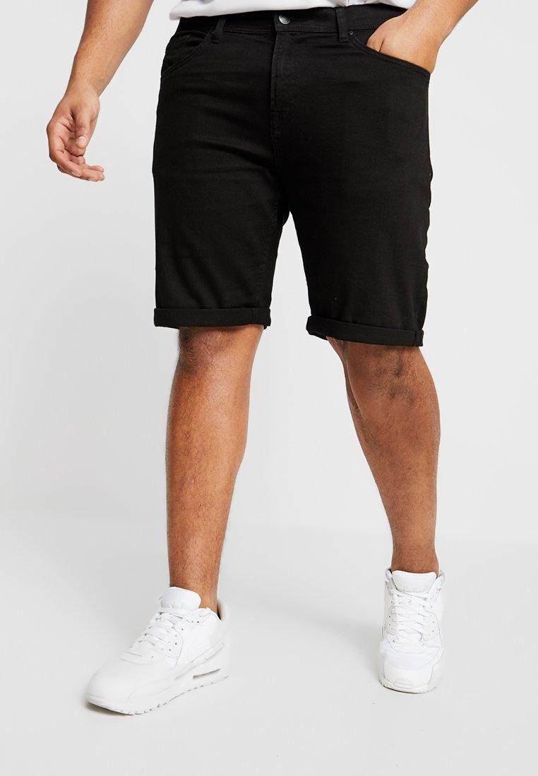 Jack´s Sportswear - Denim shorts - clean black
