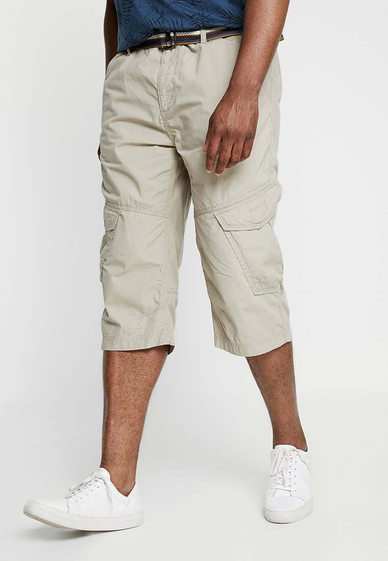 Jack´s Sportswear - LONG BERMUDA BELT - Shorts - sand