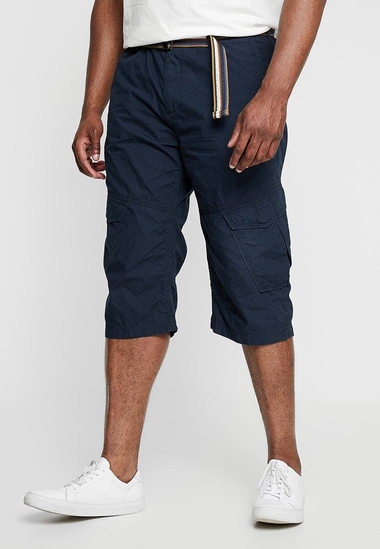 Jack´s Sportswear - LONG BERMUDA BELT - Shorts - navy