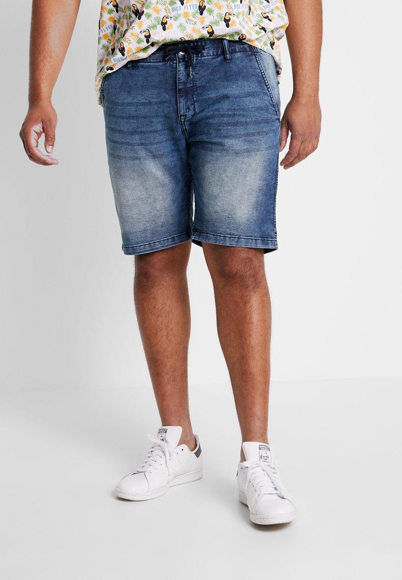 Jack´s Sportswear - Jeans Shorts - blue denim