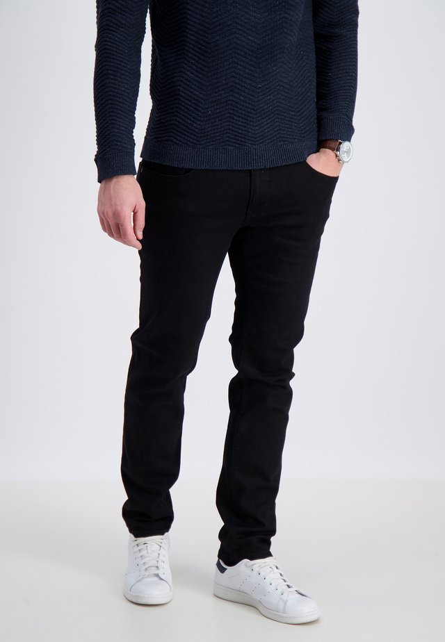 Jeans Tapered Fit - COLD BLACK