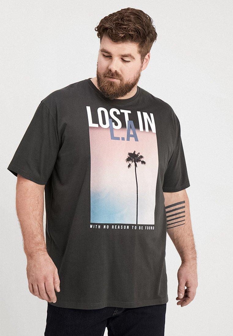 Jack´s Sportswear - TEE - T-shirts print - dusty black