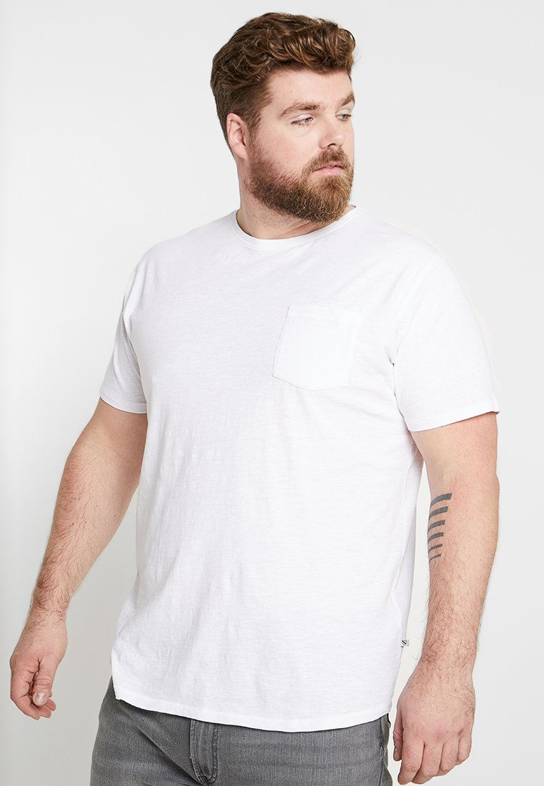 Jack´s Sportswear - MIAMI CURVED  - Print T-shirt - white