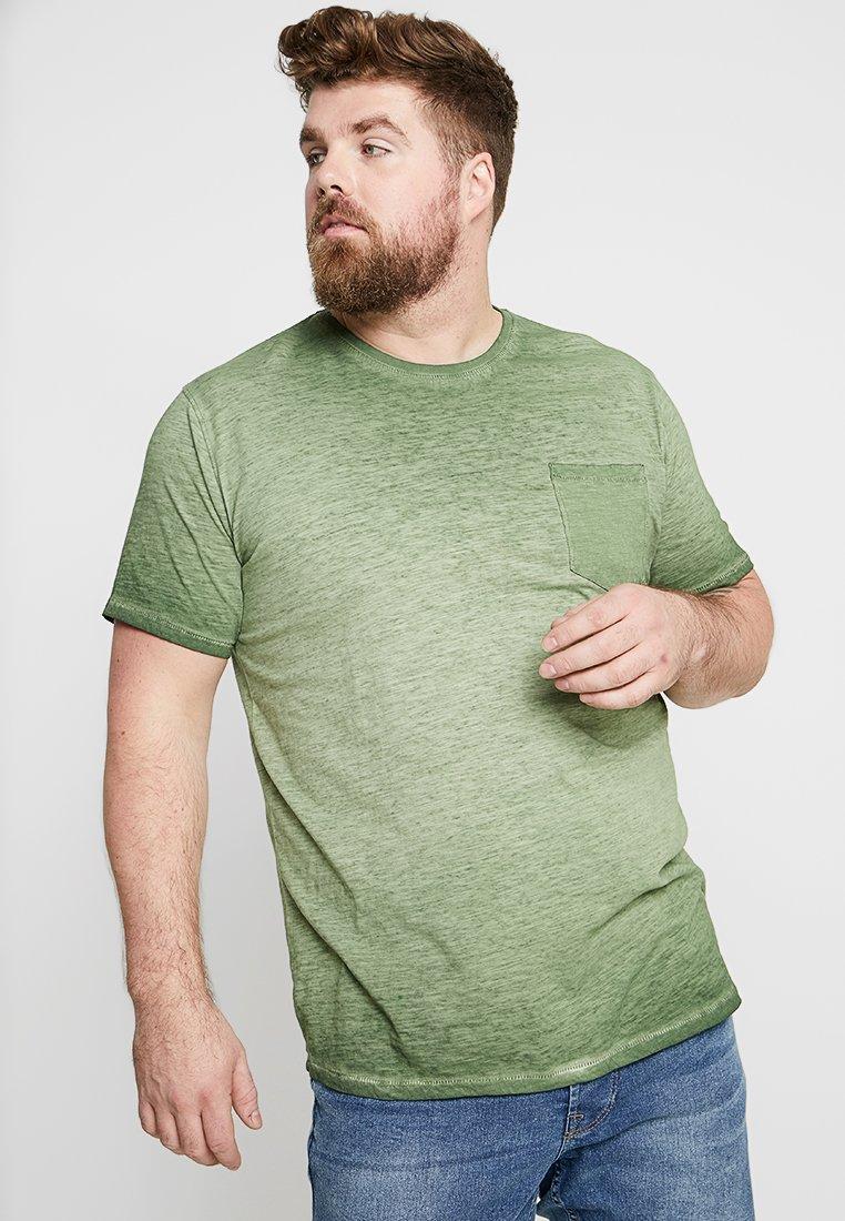 Jack´s Sportswear - MIAMI CURVED  - T-shirts print - army
