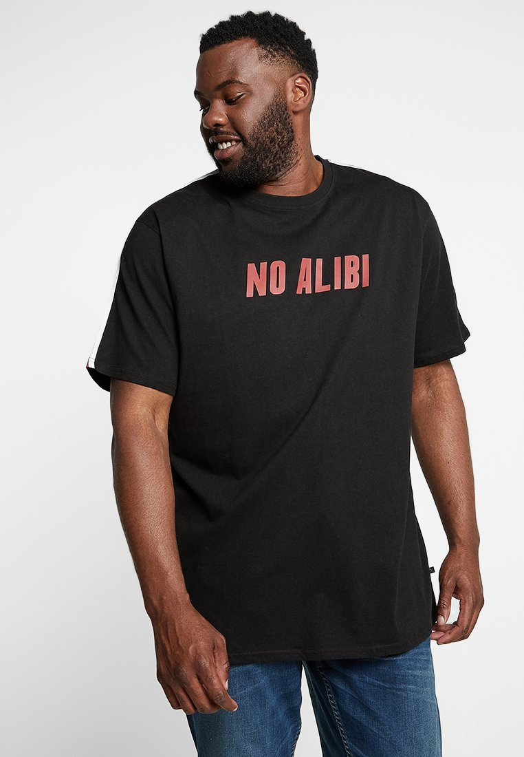 Jack´s Sportswear - STATEMENT TEE - T-shirts print - dusty black