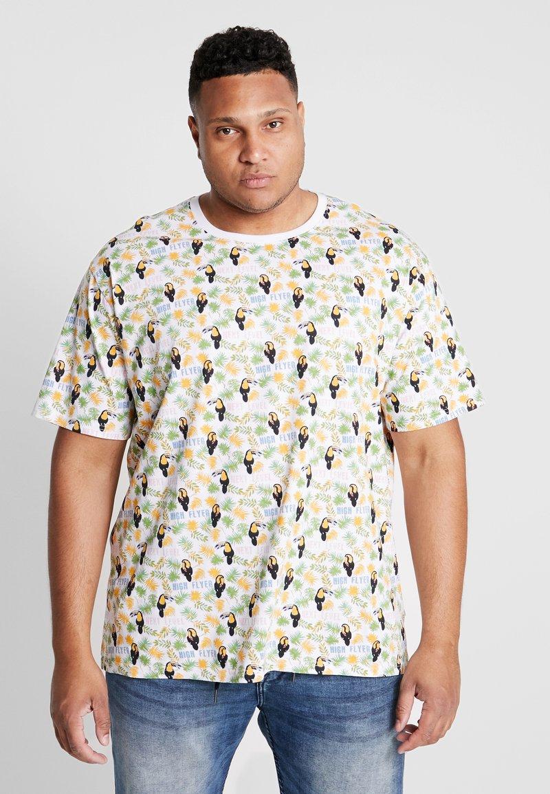 Jack´s Sportswear - TEE - T-shirt med print - white