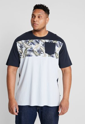 TEE - Print T-shirt - light blue