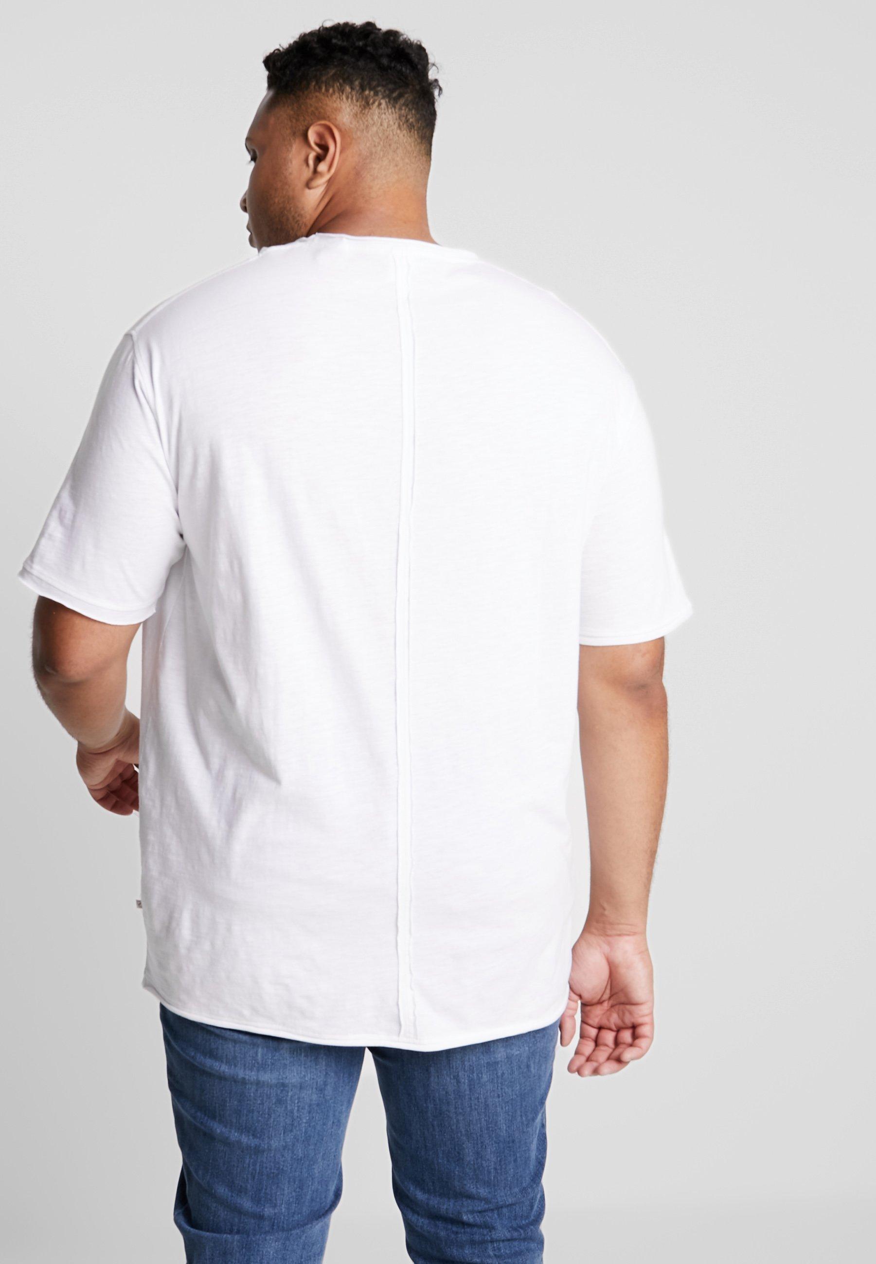 Pocket shirt White Print Imprimé Jack´s Sportswear Slub TeeT Xn0w8OPk