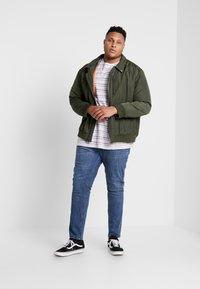 Jack´s Sportswear - STRIPED - T-shirt print - navy - 1