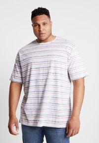 Jack´s Sportswear - STRIPED - T-shirt print - navy - 0