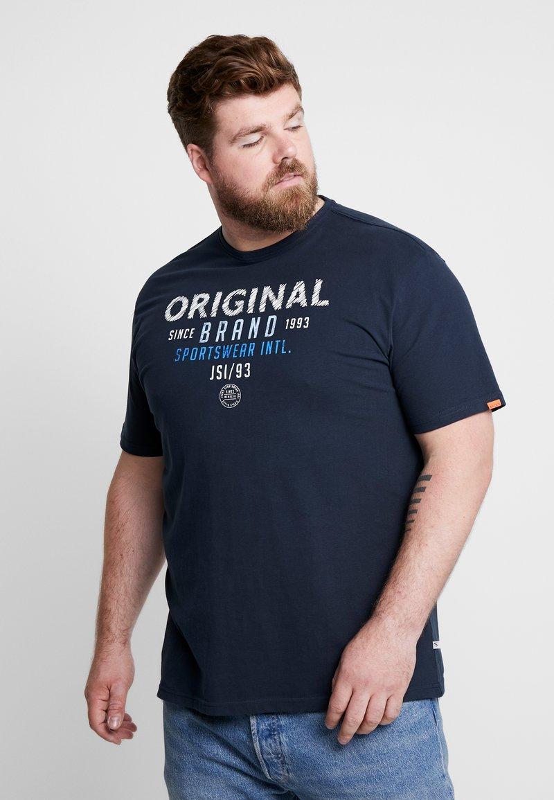 Jack´s Sportswear - ORIGINAL O NECK - T-Shirt print - navy