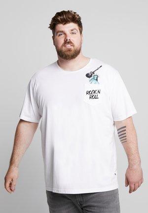 ROCK TEE - Print T-shirt - white