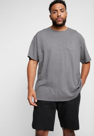 GARMENT DYED SLUB TEE - T-shirt basic - grey