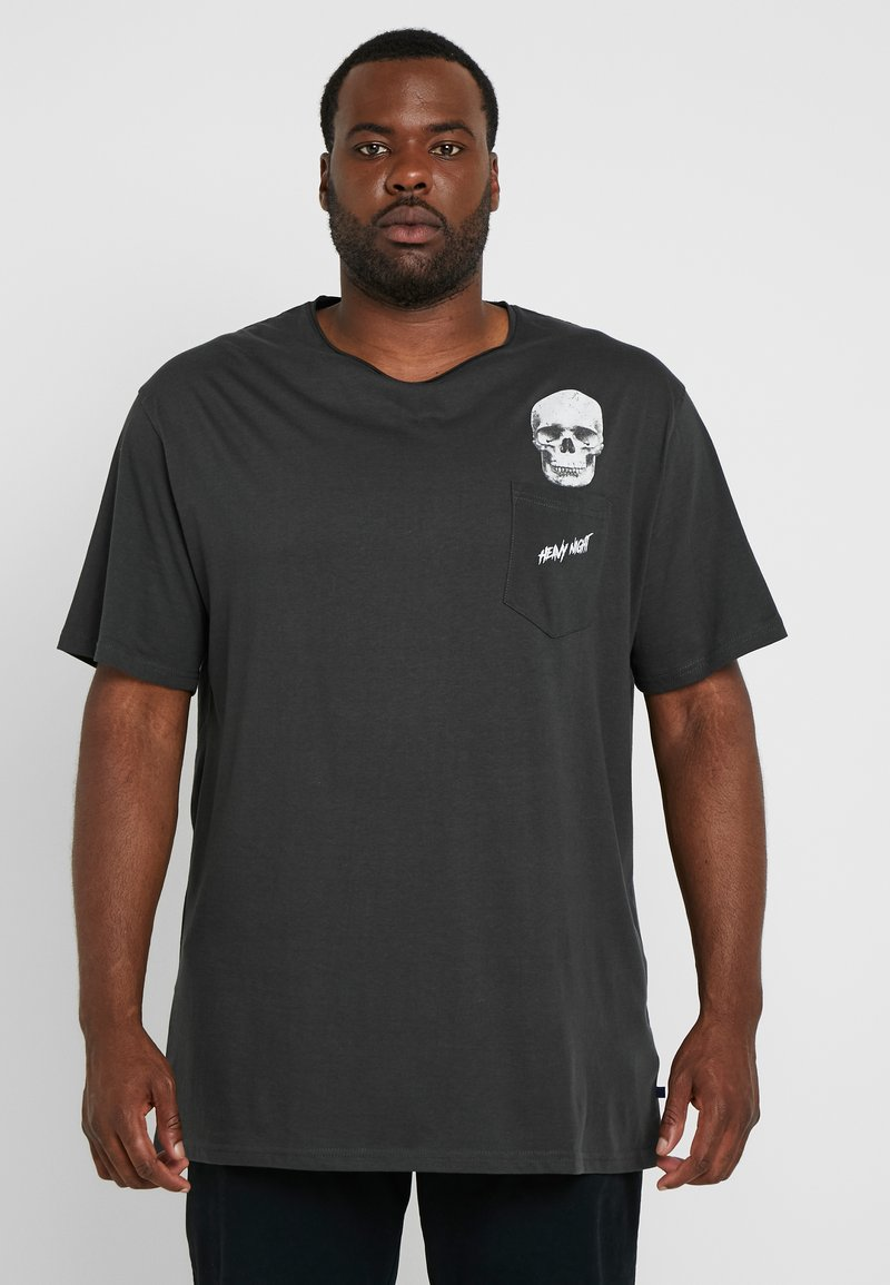 Jack´s Sportswear - HUMOUR TEE - Print T-shirt - dusty black
