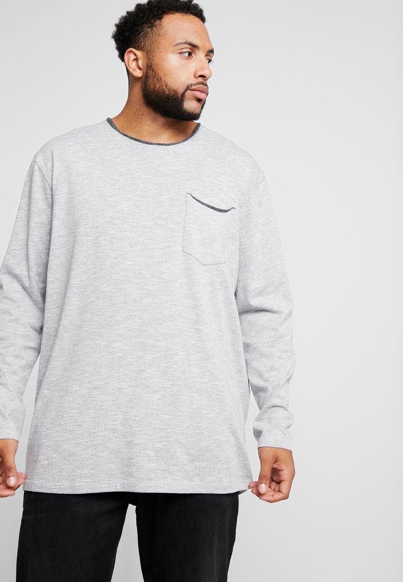 Jack´s Sportswear - POCKET TEE - Jumper - light grey