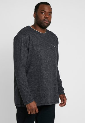 POCKET TEE - Pullover - black