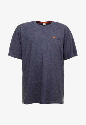 TWIST STRIPE TEE - Basic T-shirt - blue