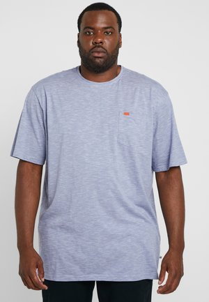 TWIST STRIPE TEE - T-shirt basic - dark blue