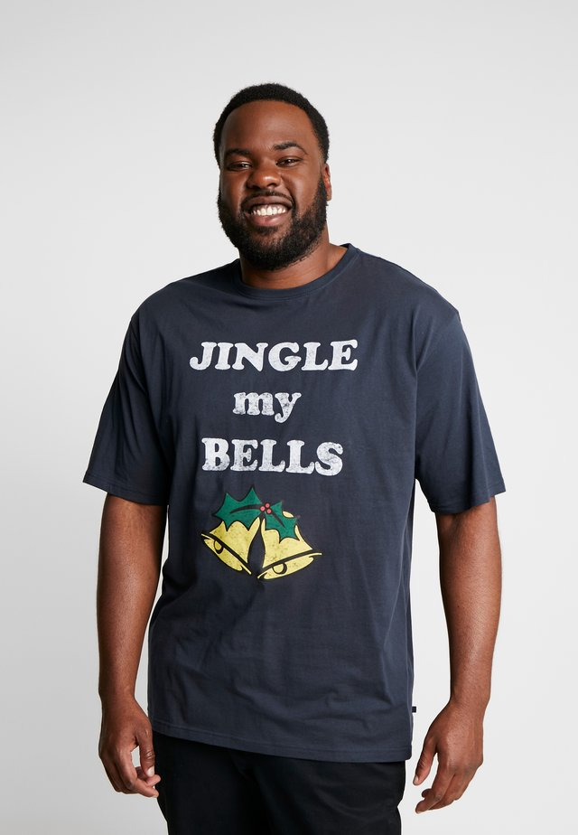 CHRISTMAS TEE - T-Shirt print - navy