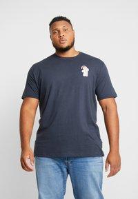 Jack´s Sportswear - CHRISTMAS APPLICATION TEE  - T-shirts print - navy - 0