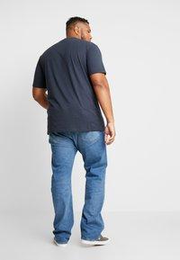 Jack´s Sportswear - CHRISTMAS APPLICATION TEE  - T-shirts print - navy - 2