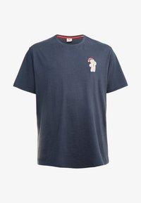 Jack´s Sportswear - CHRISTMAS APPLICATION TEE  - T-shirts print - navy - 3