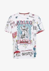 Jack´s Sportswear - SCRIBBLE CHRISTMAS TEE - T-Shirt print - white - 3