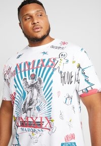 Jack´s Sportswear - SCRIBBLE CHRISTMAS TEE - T-Shirt print - white - 4