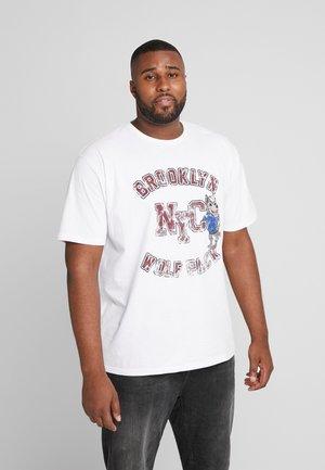MASCOT PRINT TEE - Print T-shirt - white