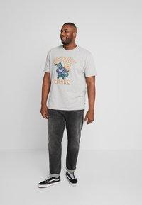Jack´s Sportswear - MASCOT PRINT TEE - T-shirt print - grey melange - 1