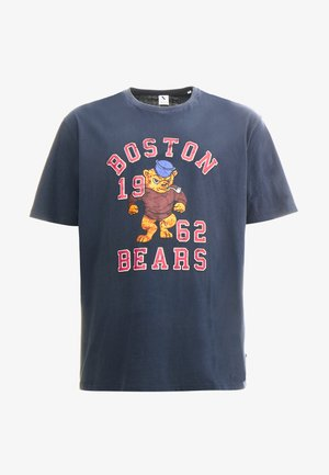 MASCOT PRINT TEE - T-shirt print - navy