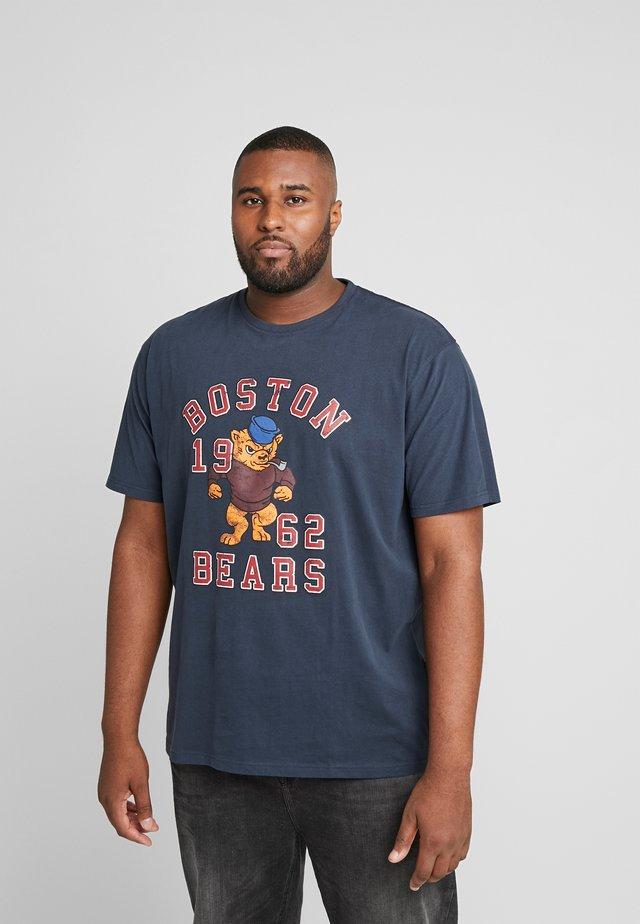 MASCOT PRINT TEE - T-shirt con stampa - navy