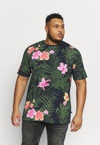 Jack´s Sportswear - RELAXFIT TEE - T-shirt med print - navy - 0