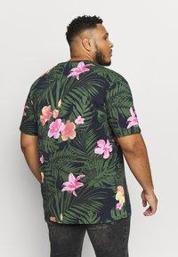 Jack´s Sportswear - RELAXFIT TEE - T-shirt med print - navy - 2
