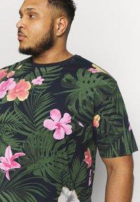 Jack´s Sportswear - RELAXFIT TEE - T-shirt med print - navy - 4