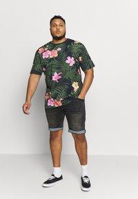 Jack´s Sportswear - RELAXFIT TEE - T-shirt med print - navy - 1
