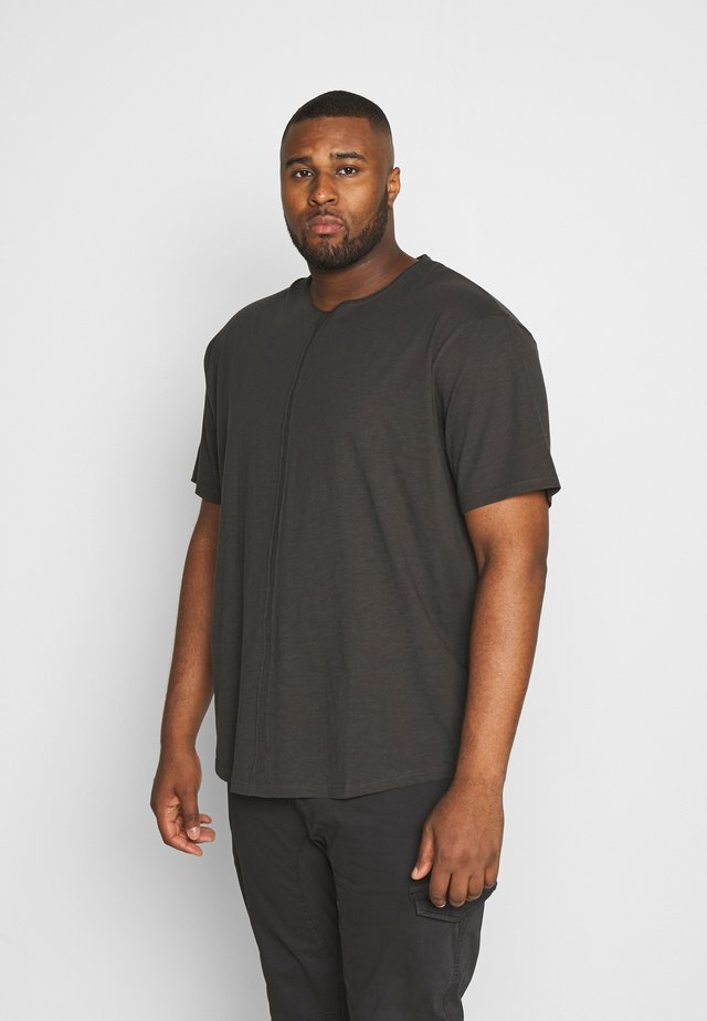 FLAME - Basic T-shirt - dusty black
