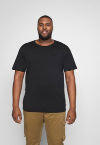 Jack´s Sportswear - BASIS TEE SINGLE 2 PACK - Basic T-shirt - black - 1
