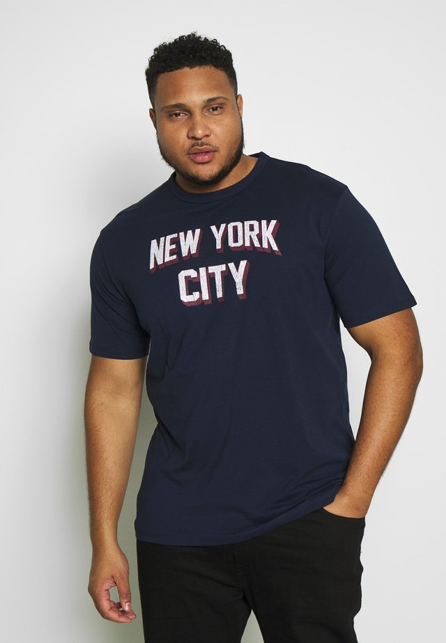 AMERICAN CITY - T-shirt con stampa - navy