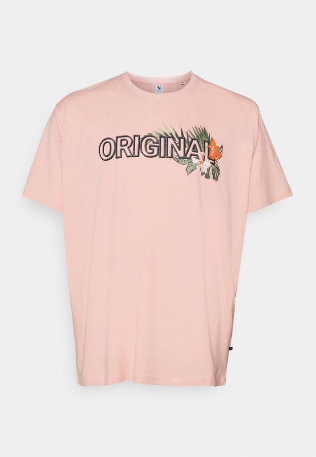 PRINT TEE - T-shirt imprimé - pink