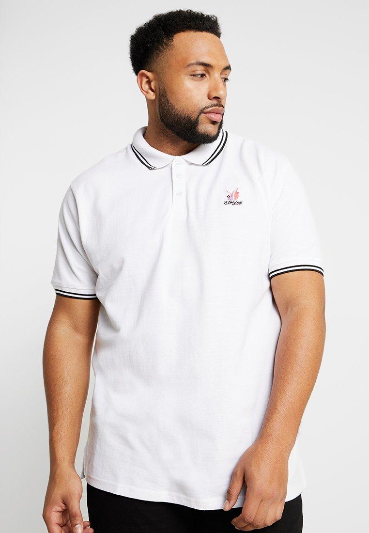 Jack´s Sportswear - FADED - Polo shirt - white