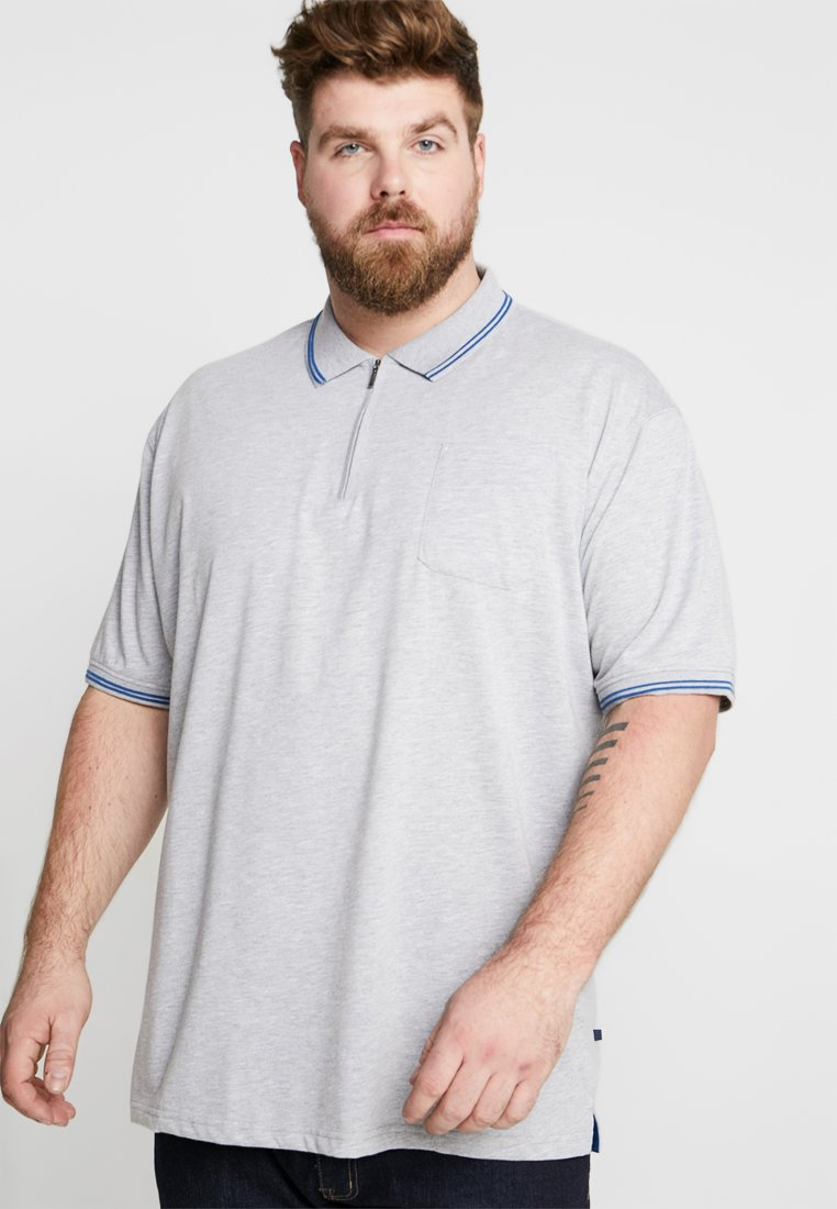 Jack´s Sportswear - SOLID BLEND TEE - Poloshirt - light grey melange