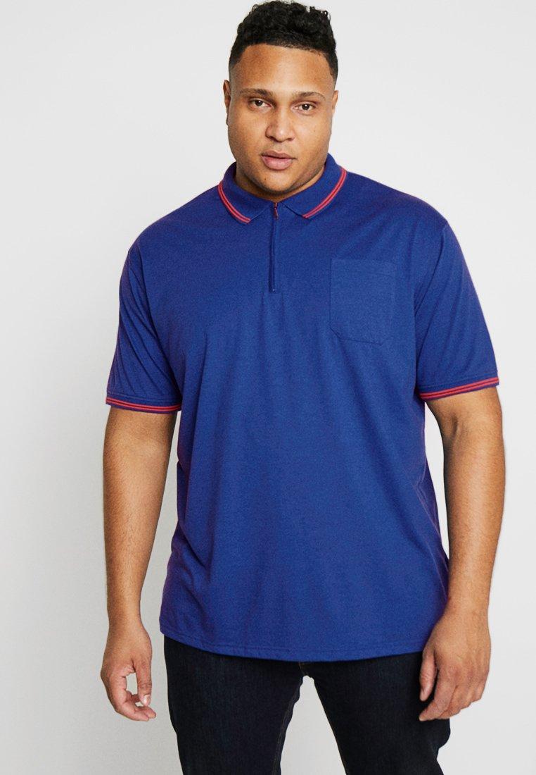 Jack´s Sportswear - SOLID BLEND TEE - Polo shirt - blue